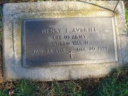 Henry Francis Averill
