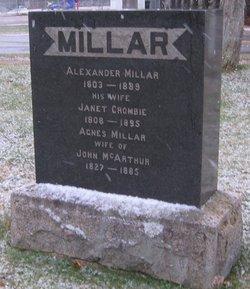Agnes <I>Millar</I> McArthur