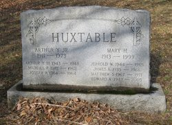 Arthur Young Huxtable, Jr