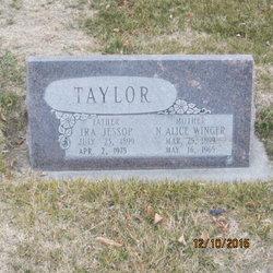 Nora Alice <I>Winger</I> Taylor