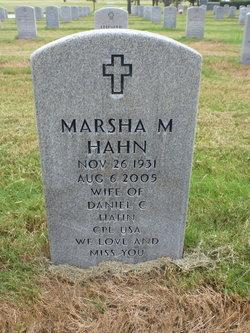 Marsha M Hahn