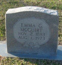 Emma Jane <I>George</I> Faggart McGuirt