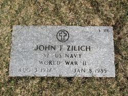 John F Zilich