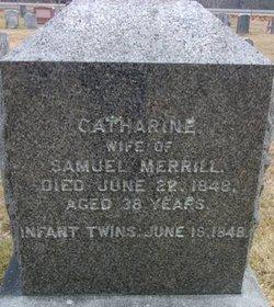 Catherine <I>Thomas</I> Merrill