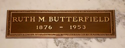 Ruth Mabel <I>Holcomb</I> Butterfield