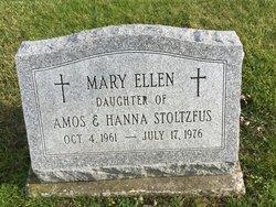 Mary Ellen Stoltzfus