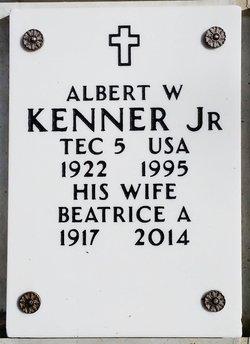 Albert W Kenner, Jr