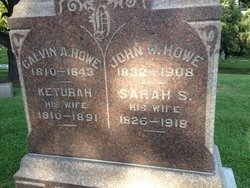 Sarah <I>Sackett</I> Howe