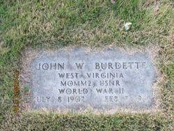 John W Burdette