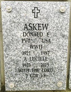 Donald E Askew