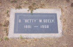 "Bessie ""Betty"" <I>Waddington</I> Seely"