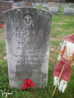 PFC Ralph E. Adams