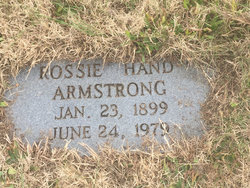 Rossie <I>Hand</I> Armstrong