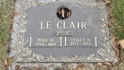Paul A Le Clair