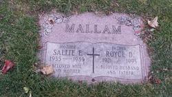 Sallie E Mallam