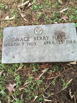 Grace Berry Hays