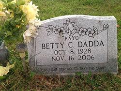 "Betty Carolyn ""Kayo"" <I>Bryant</I> Dadda"