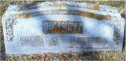 Polly Ann <I>Loyd</I> Baker