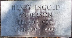 Henry Ingold Anderson