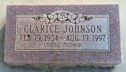 Clarice Agnes <I>Moore</I> Johnson