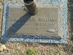 Donald Larry Williams