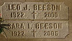 Sara Inez <I>Philpott</I> Beeson