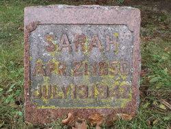 Sarah A <I>Black</I> Echlin