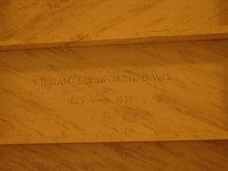 William Ellsworth Davis