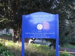 St Mary-at-Latton Churchyard