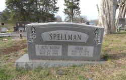 Francis Rita <I>Boone</I> Spellman