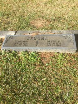 Bessie <I>Allen</I> Broome