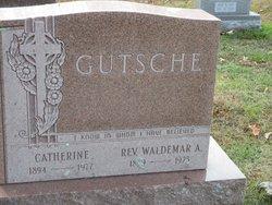 Rev Waldemar A. Gutsche
