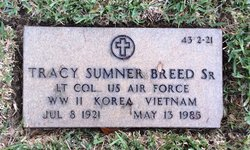LTC Tracy Sumner Breed Sr.