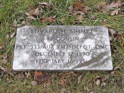 Edward Harry Simmet