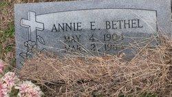 Annie Elizabeth <I>Curry</I> Bethel