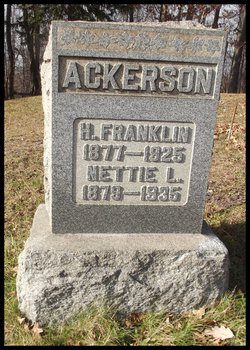 Nettie Leora <I>Dick</I> Ackerson
