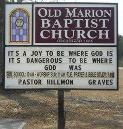 Omarion Baptist Church Cemetery