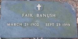 Faik Banush