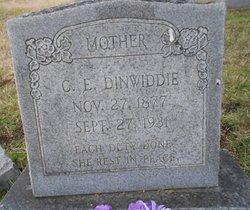 C. E. Dinwiddie