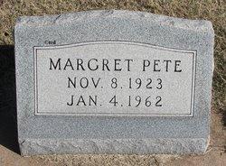 Margret Pete