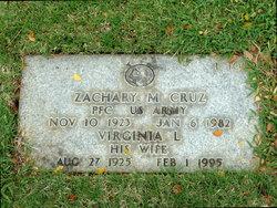 Zachary M Cruz