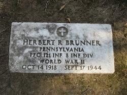 PFC Herbert R Brunner