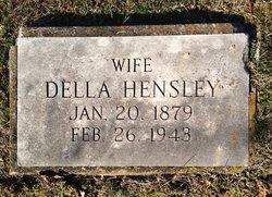 Della Lee <I>Southard</I> Hensley