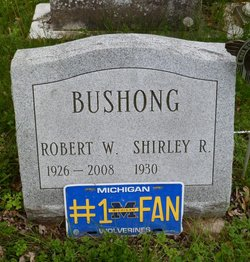 Shirley Rita <I>Weckman</I> Bushong
