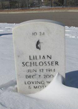 Lillian K <I>Kirk</I> Schlosser