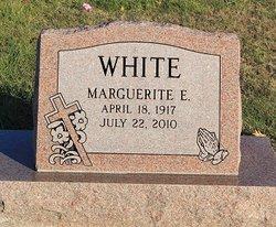 Minnie E <I>Groves</I> White
