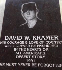 PFC David Walter Kramer