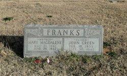 Mary Maglene <I>Scott</I> Franks