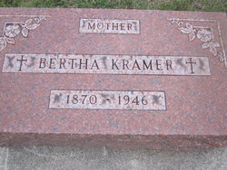 Bertha <I>Hoffman</I> Kramer