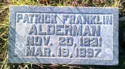 Patrick Franklin Alderman